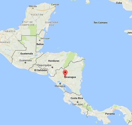 L'ouragan Otto se rapproche des côtes caribéennes d'Amérique Centrale - DR : Google Maps