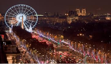 Le Marché de Noël des Champs Elysées - DR