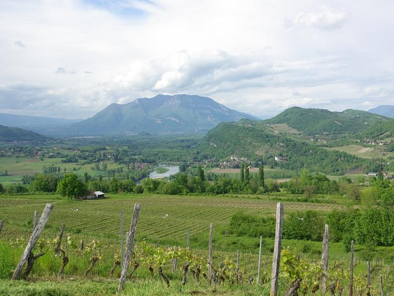 L'Avant-Pays savoyard est un territoire de collines et de montagnes légères, de pommiers, de vignes et de lacs, possède, en plus d'être accueillant, une identité originale. De quoi séduire les touristes curieux de nature - DR : J.-F.R.