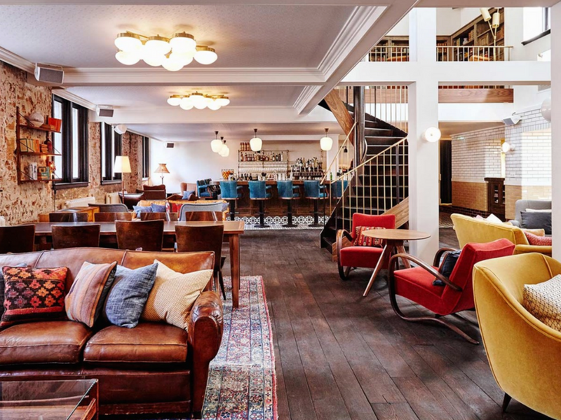 The Lobby © The Hoxton Amsterdam