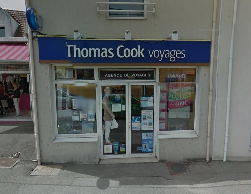 L'agence de voyage Thomas Cook de Vertou - Photo GoogleMaps