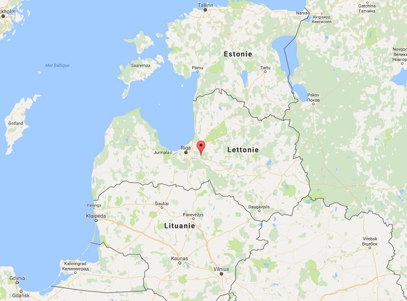 Les circuits sur une semaine seront assez intenses mais permettront une première approche idéale des Pays-Baltes avec un aperçu des incontournables, avant peut être un second voyage plus en immersion dans l'un ou l'autre pays - Photo Google Map