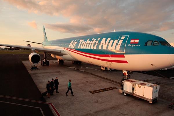 Si le syndicat SNMSAC-UNSA met ses menaces à exécution, les avions d'Air Tahiti nui pourraient bien rester clouer au sol à partir de vendredi 2 décembre 2016 - Photo : Air Tahiti Nui