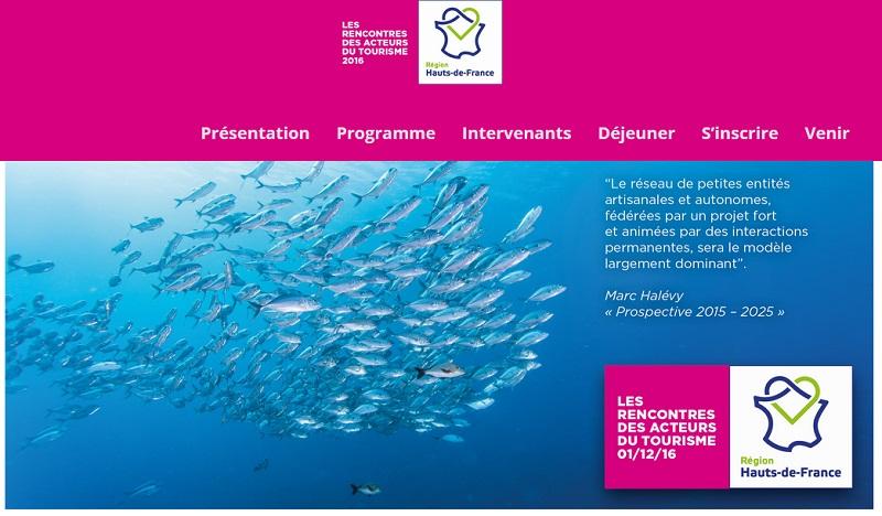 Les Rencontres des acteurs du tourisme Hauts-de-France ont eu lieu le 1er décembre 2016 - DR