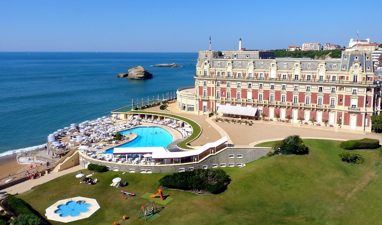 L'Hôtel du Palais à Biarritz - Photo : Atout France