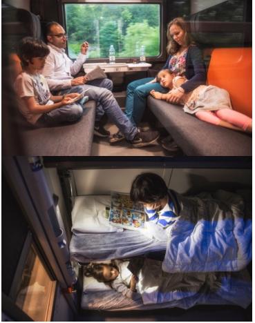 Les voitures-couchettes du Paris-Venise de Thello se refont une beauté - Photos : Thello