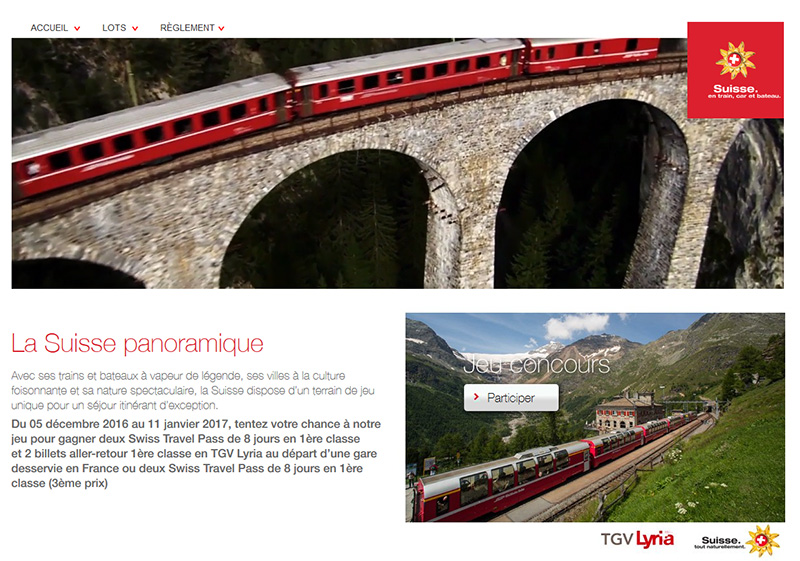 Jeu concours : Suisse Tourisme fait gagner des Travel Pass aux agents de voyages