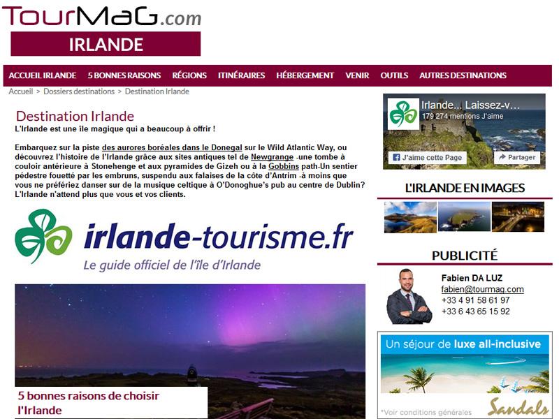 Dossier Destination : Partez à la découverte de l'Irlande !
