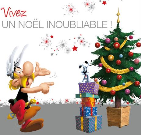 Durant les fêtes de fin d'année, le Parc Asterix n'est ouvert qu'aux comités d'entreprise et aux événements privatifs @Parc Asterix