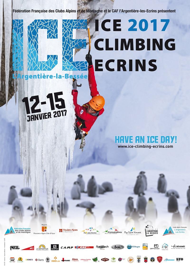 Cascade de Glace : « Ice Climbing Ecrins » vous donne rendez-vous à l'Argentière-la-Bessée
