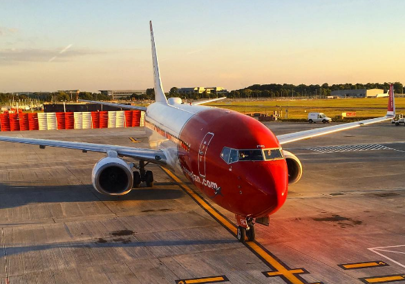 Norwegian va pouvoir voler aux USA via sa filiale irlandaise Norwegian Air International - Photo : Instagram