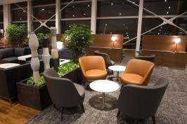 Le salon privé Feuille d'érable d'Air Canada à Montréal-Trudeau peut accueillir 259 passagers - Photo : Air Canada