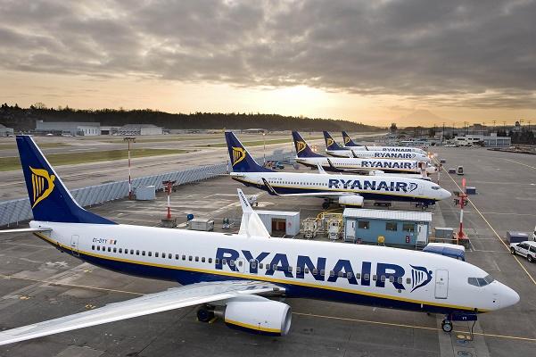 Ryanair dévoile ses statistiques de trafic pour novembre 2016 - Photo : Ryanair