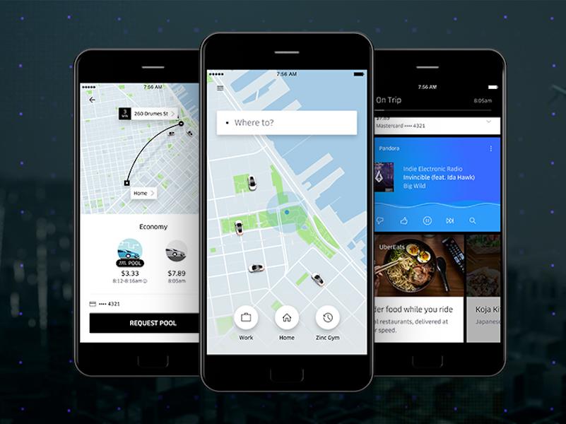 Uber, le service américain de réservation de voitures avec chauffeur vient d'acquérir la start-up Geometric Intelligence (c) newsroom Uber