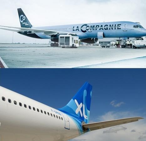 XL Airways a racheté La Compagnie par un jeu d'échange de titres - Photos : La Compagnie/XL Airways
