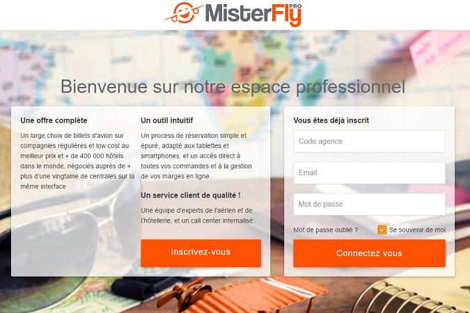 Capture d'écran de MisterFlyPro