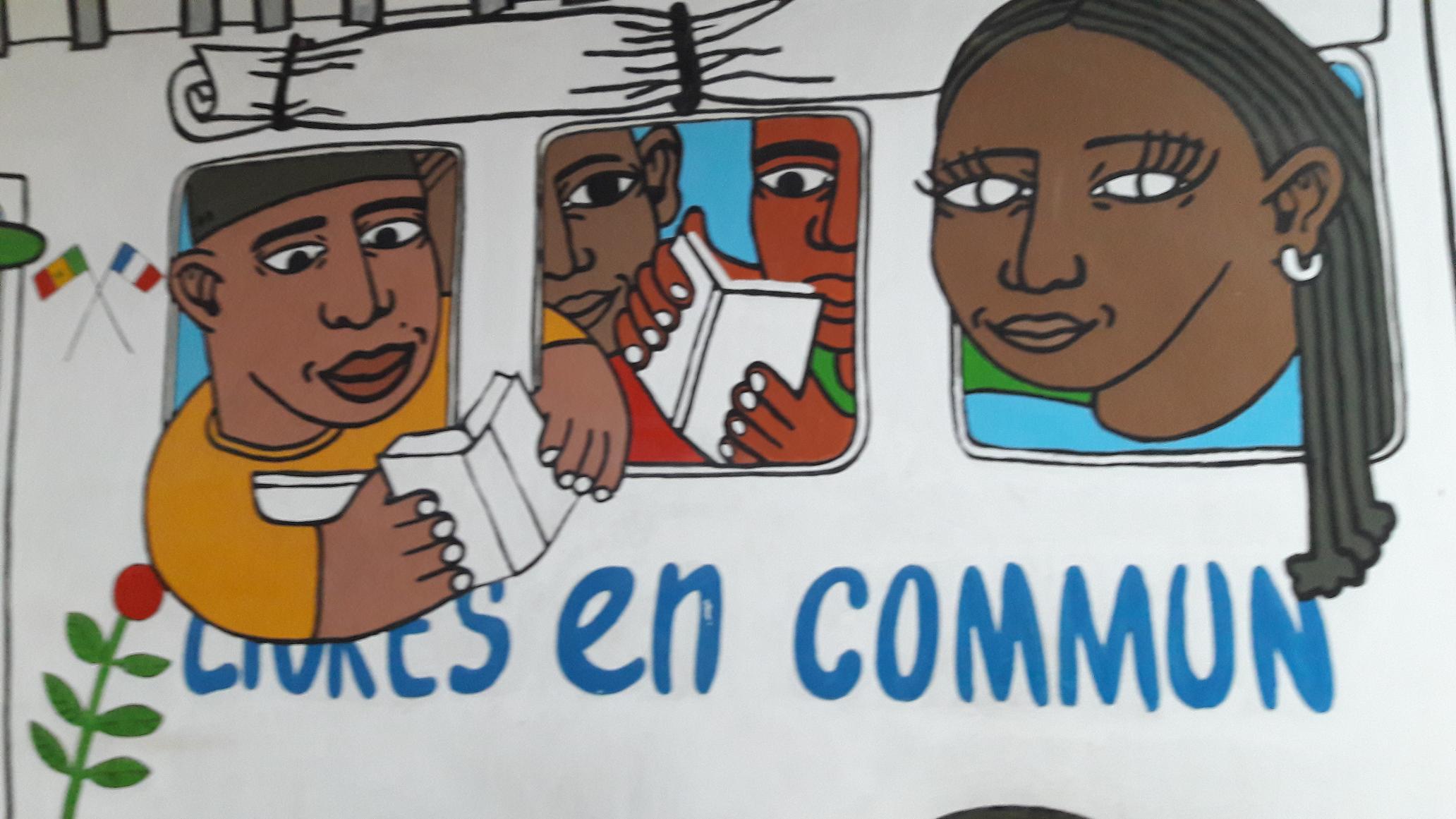 Le message interpelle à l'Institut Français de Dakar - DR : M.S.