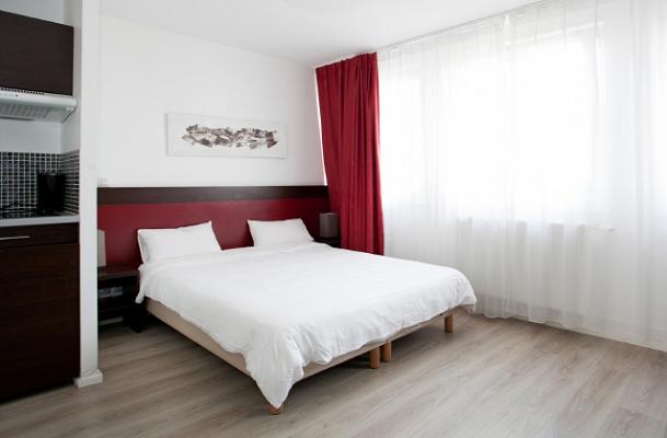 Le Residhotel Lille Vauban propose des studios et des appartements de 20 à 40 m² - Photo : Residhotel