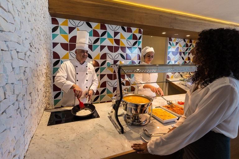 Le salon Star Alliance lors de l'ouverture... - Photo Star Alliance