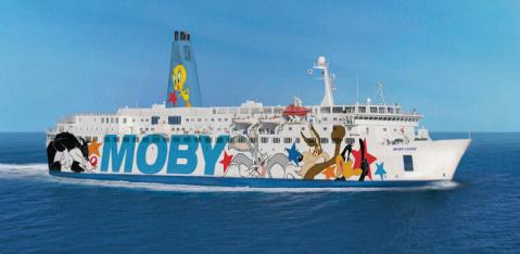 Les croisières de Moby partiront chaque les vendredis de Nice pour rejoindre Bastia - Photo : Moby