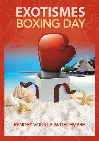 """L'opération """"Boxing Day"""" d'Exotismes débute le 26 janvier 2016 et s'achève le 31 janvier 2017 - DR : Exotismes"""