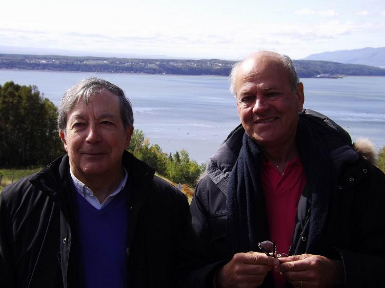 Jean-Pierre Doche (à gauche) et Bernard Personnaz.