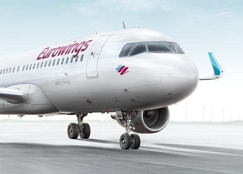 Eurowings assurera 89 vols hebdomadaires et prévoit de transporter environ 400 000 passagers dès l'été 2017 - DR