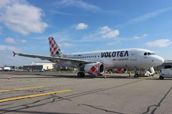 Volotea volera vers Madrid depuis Bordeaux et Nantes à partir d'avril 2017 - Photo : Volotea