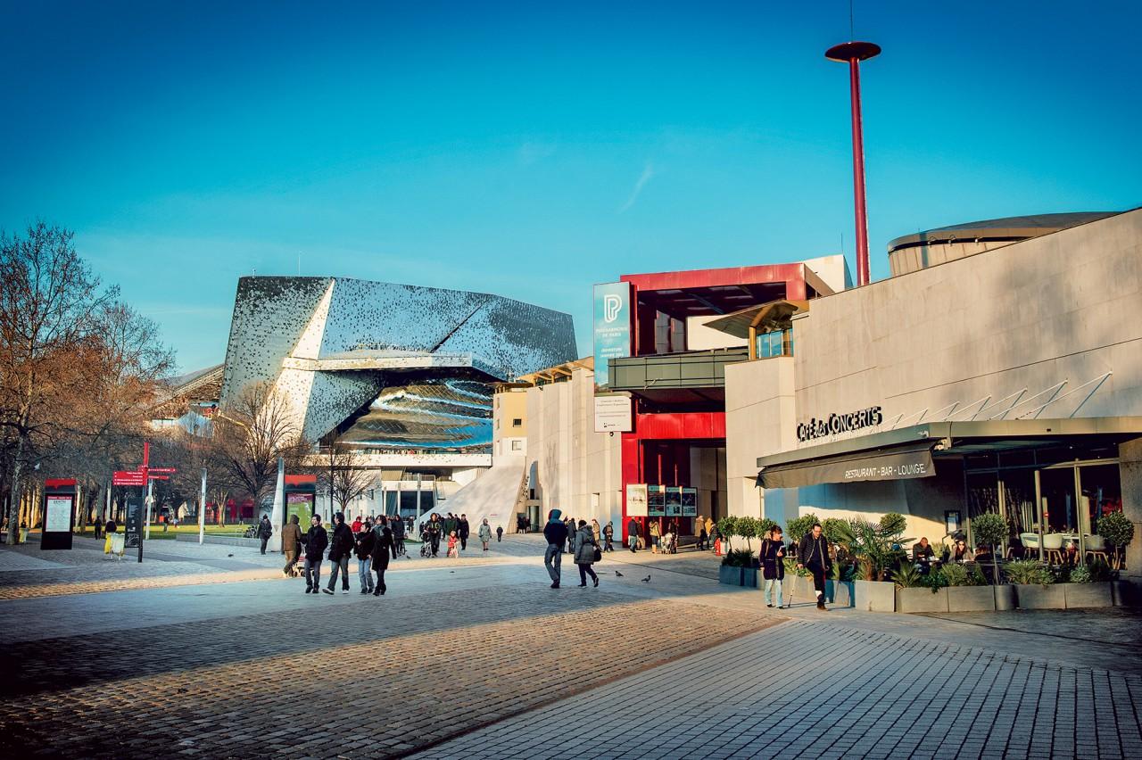 Musée de la musique Philharmonie de Paris. Photo: W. Beaucardet