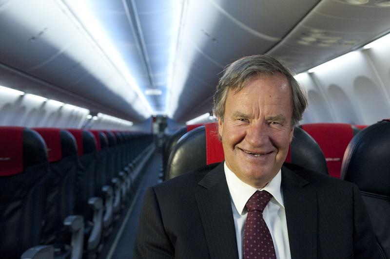 Bjørn Kjos, PDG de Norwegian - DR : Creative Commons Attribution
