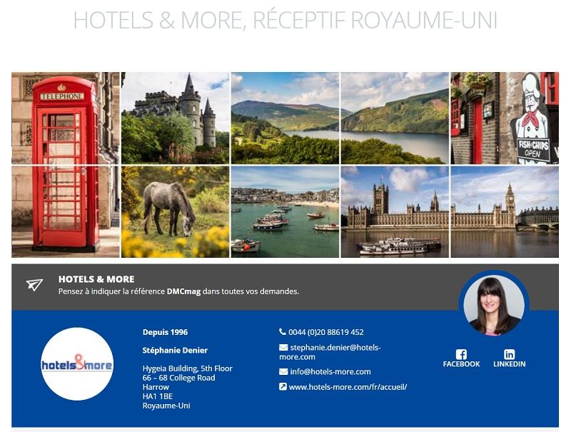 Hotels & More, spécialiste du Royaume-Uni