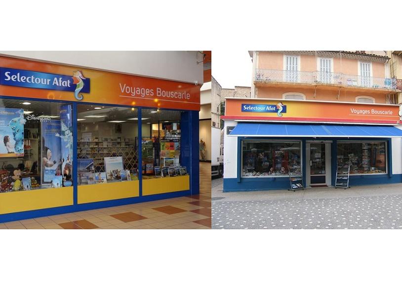 Les deux agences NAP Voyages Bouscarle sont situées aux Pennes-Mirabeau dans la zone commerciale de Plan-de-Campagne, et à Gardanne, dans les Bouches-du-Rhône - Photos : NAP Voyages