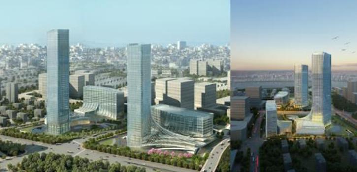 L'hôtel Rocco Forte de Shanghai se trouvera dans le complexe urbain du Longhua International Aviation Service Center - Photo : Rocco Forte