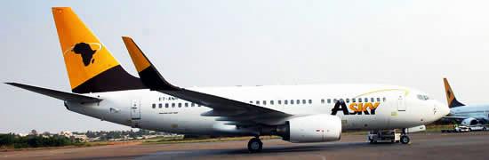 Asky Airlines souhaite élargir son réseau en Europe et en Asie en 2017 - Photo : Asky Airlines