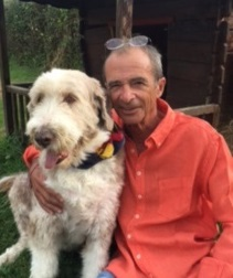 Dominique Gobert et chien Charly - DR