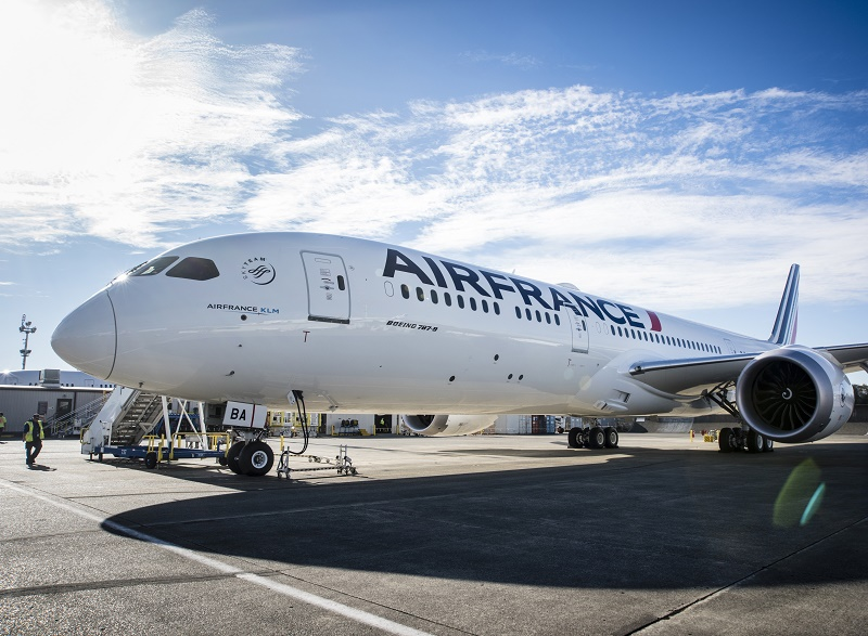 Air France met en service son premier Boeing 787