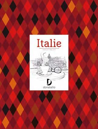 La nouvelle brochure Italie de Donatello - DR