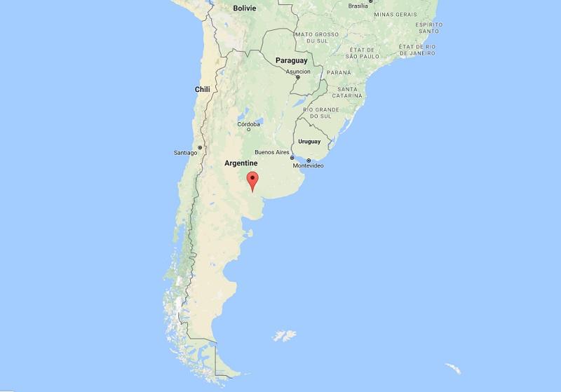Le gouvernement argentin a fait ses comptes et espère ainsi séduire 95 000 visiteurs étrangers supplémentaires pour 2017, grâce au remboursement de la TVA aux touristes étrangers sur l'hébergement - DR Google MAP