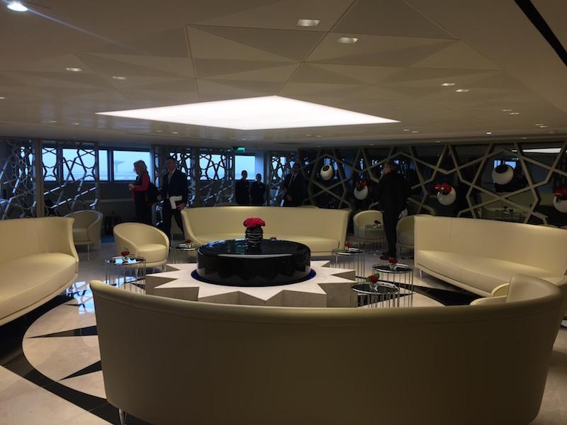 Le nouveau lounge de Qatar Airways à Paris-CDG ©PG Tour Mag