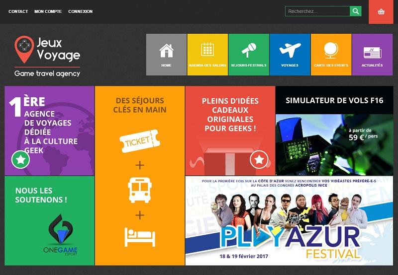 Jeux Voyage s'adresse aux moins de 35 ans, passionnés par la culture informatique, le web, le monde de l'imaginaire, les jeux vidéo, les mangas, l'e-sport, les cosplay, les comics ou encore la science fiction - DR : Jeux Voyage