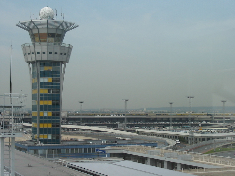 Paris-Orly © Wikimedia Commons