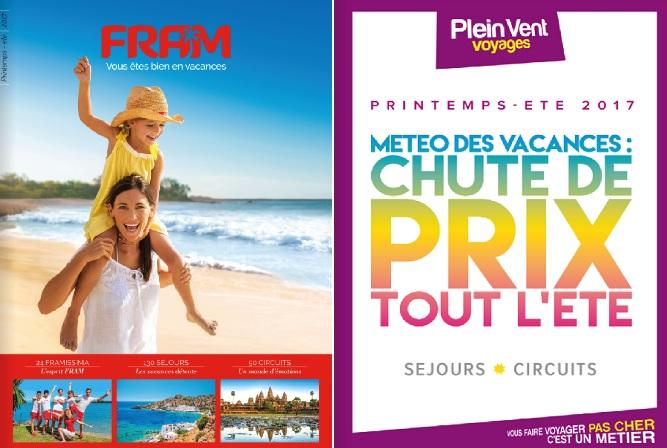 Les brochures de Plein Vent et FRAM - DR Brochuresenligne.com