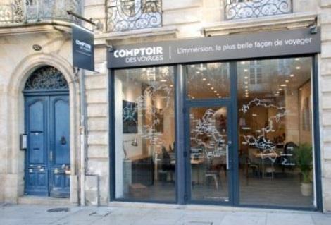 La nouvelle agence Comptoir des Voyages située à Bordeaux - DR