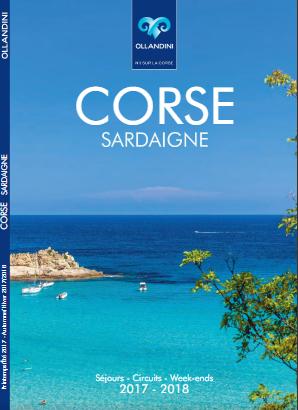 Couverture de la brochure 2017/2018 d'Ollandini Voyages - DR : Ollandini Voyages