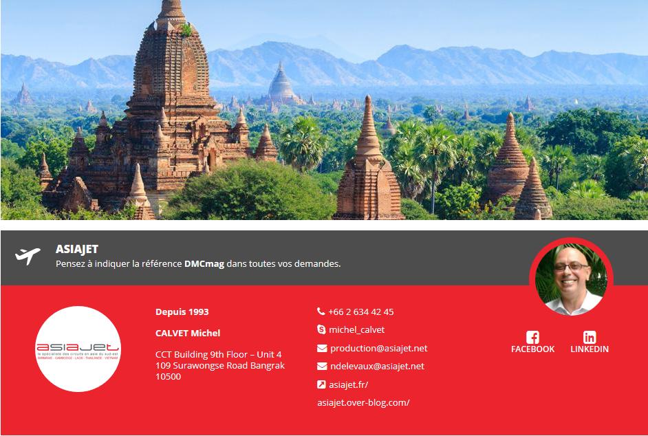 Asiajet, Réceptif Birmanie