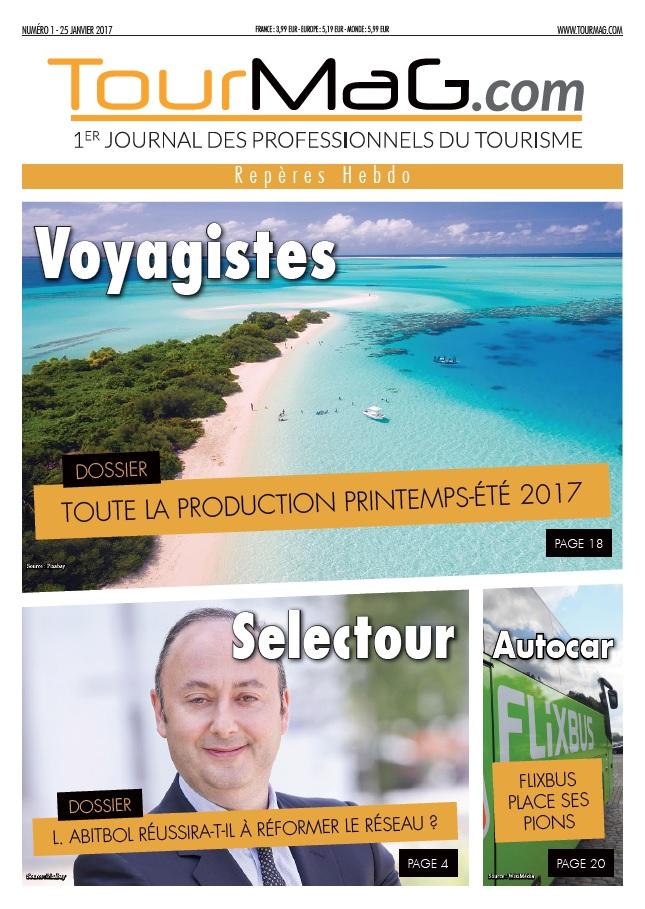 TourMaG.com lance «Repères Hebdo», une version papier hebdomadaire