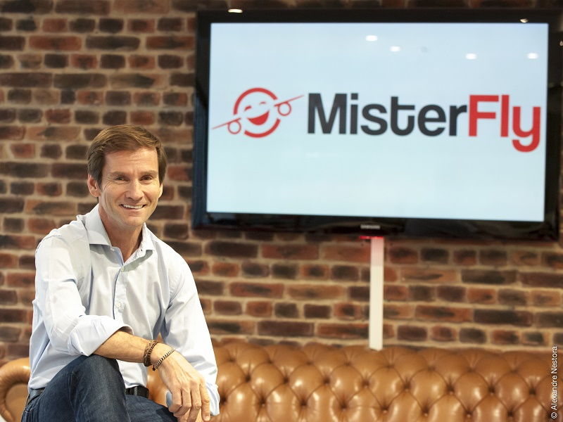 Nicolas Brumelot a fondé MisterFly avec Carlos da Silva en septembre 2015 - Photo : Alexandre Nestora