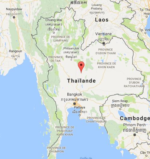 La Thaïlande va adopter le visa électronique - DR : Google Maps
