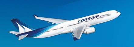 Corsair assure désormais un vols entre l'île de la Réunion et Mayotte - DR : Corsair