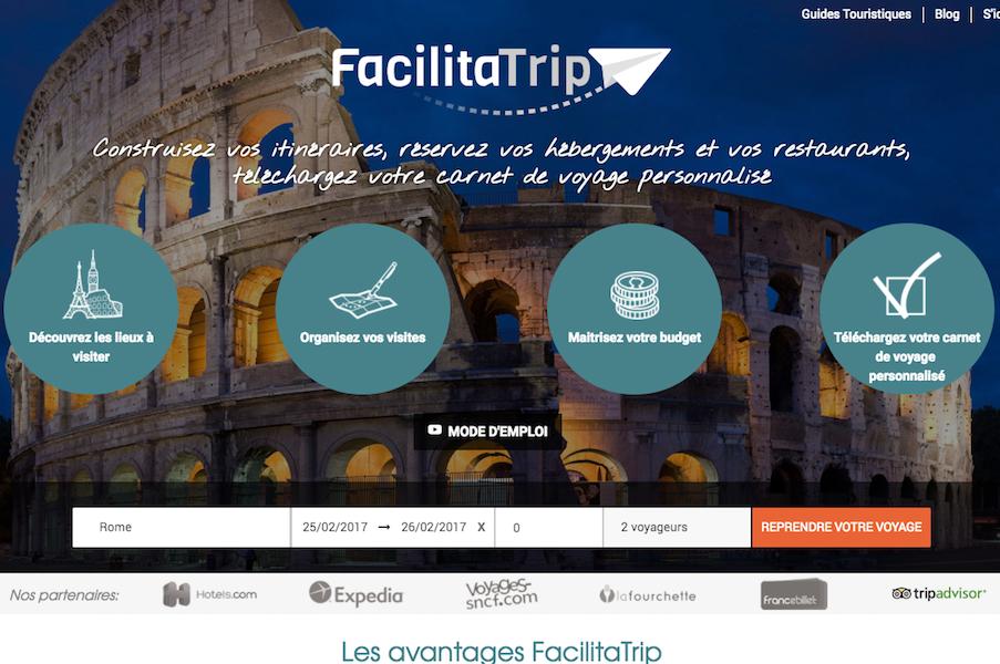 FacilitaTrip, un planificateur intelligent dédié au voyage. Il s'agit d'un outil agile qui permet de concevoir son itinéraire et de l'acheter de A à Z en quelques clics. - DR
